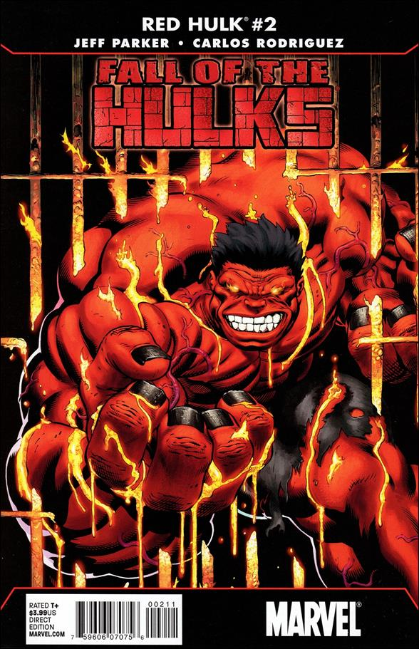 Fall of the Hulks: Red Hulk 2-A by Marvel