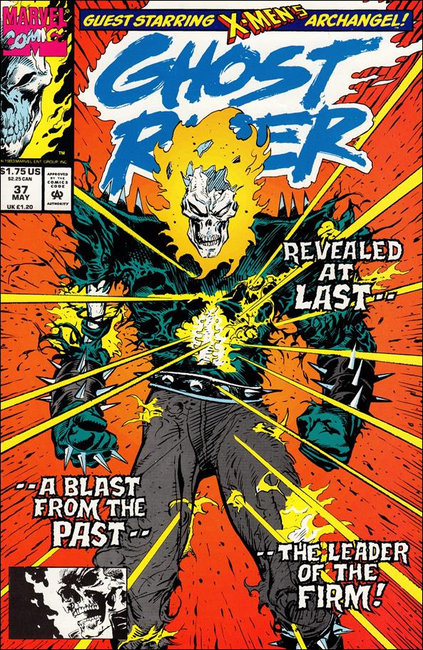 Ghost Rider (1990) 37-A by Marvel