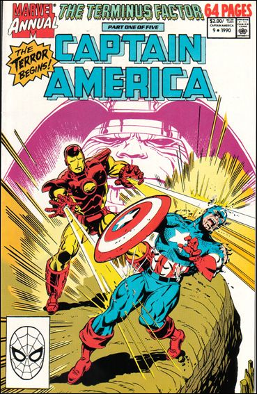 Captain America Annual 9-A by Marvel