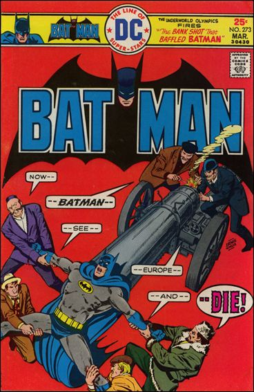 Batman (1940) 273-A by DC