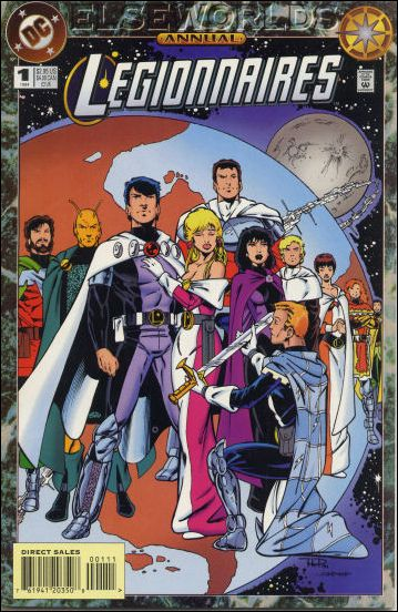 Legionnaires Annual 1-A by DC