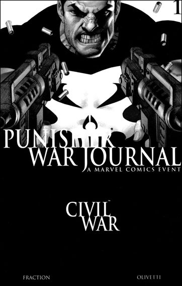 Punisher War Journal (2006) 1-B by Marvel