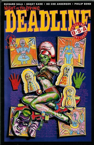 Deadline USA (1992) 1-A by Dark Horse