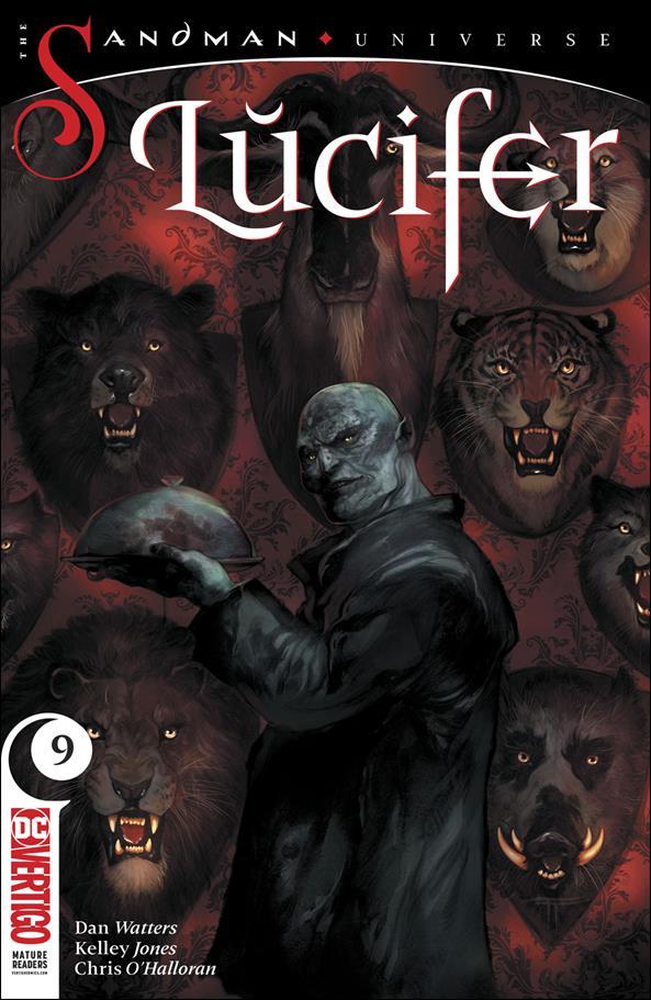 Lucifer (2018) 9-A by Vertigo