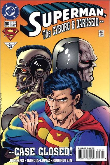 Superman (1987) 104-A by DC