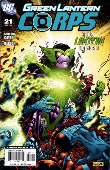 Green Lantern Corps (2006) 21-A by DC