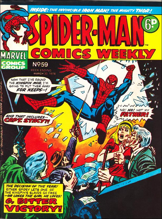 Spider-Man: Comics Weekly (UK) 59-A by Marvel UK