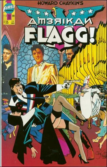 American Flagg! (1988) 10-A by First