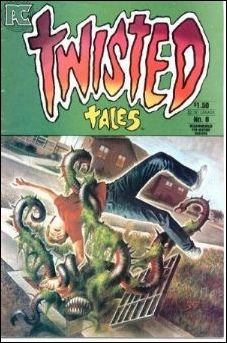 Twisted Tales (1982) 8-A by Pacific