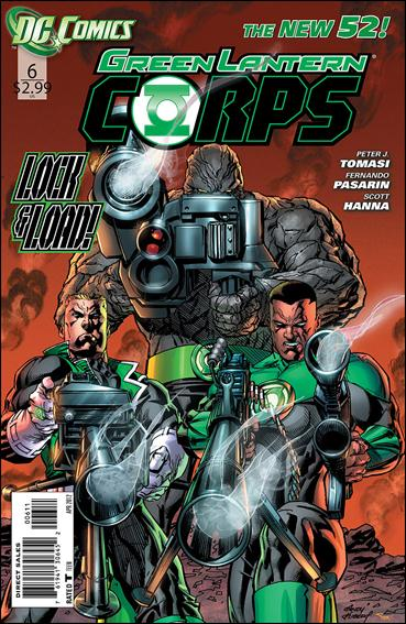 Green Lantern Corps (2011) 6-A by DC