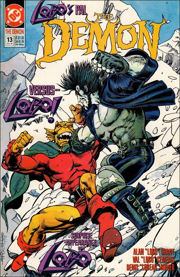 Demon (1990) 13-A by DC