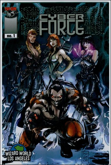 Cyberforce (2006) 1-F by Top Cow