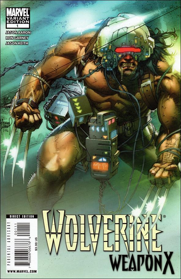 Wolverine: Weapon X 1-B by Marvel