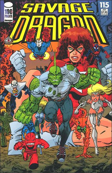 Savage Dragon (1993) 115-A by Image
