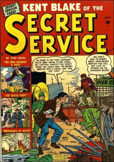 Kent Blake of the Secret Service 2-A by Atlas