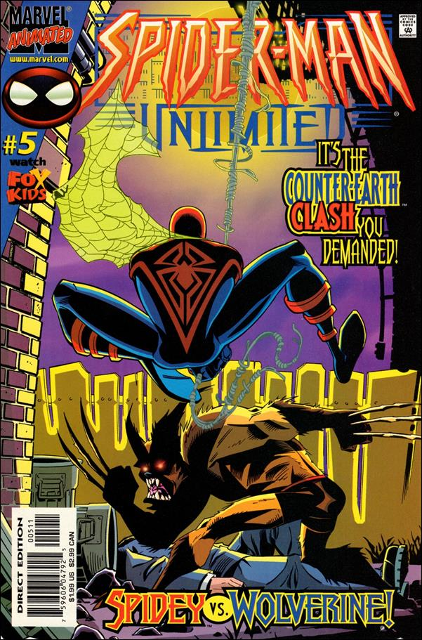 Spider-Man Unlimited (1999) 5-A by Marvel