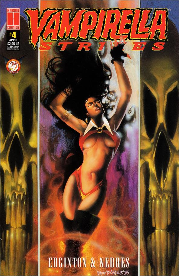 Vampirella Strikes (1995) 4-A by Harris