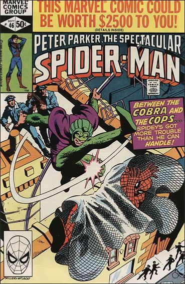 Spectacular Spider-Man (1976) 46-A by Marvel