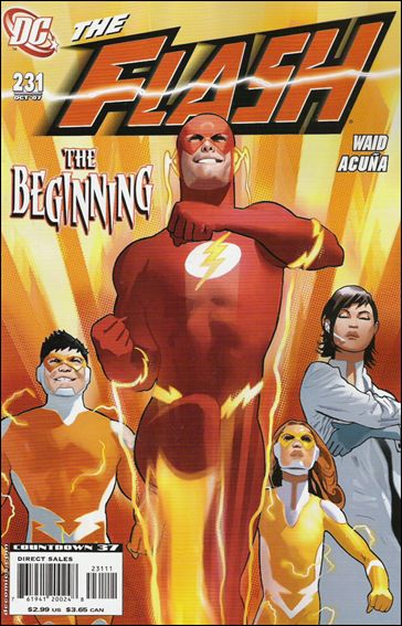 Flash (1987) 231-A by DC