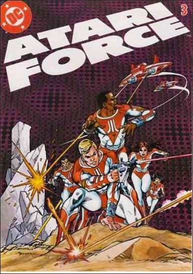 Atari Force (1982) 3-A by DC