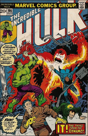 Incredible Hulk (1968) 166-A by Marvel
