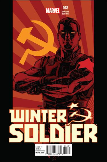 Winter Soldier 18-B by Marvel