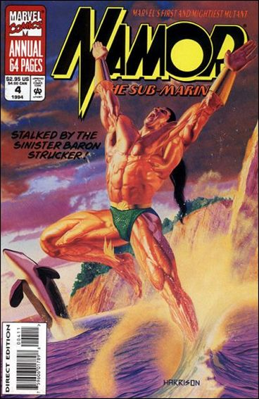 Namor, The Sub-Mariner Annual 4-A by Marvel