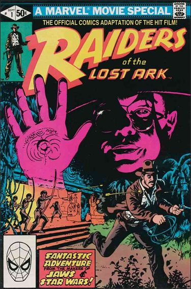 Raiders of the Lost Ark 1-A by Marvel
