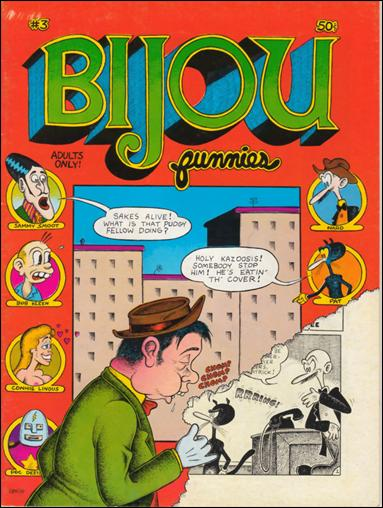 Bijou Funnies 3-A by Kitchen Sink