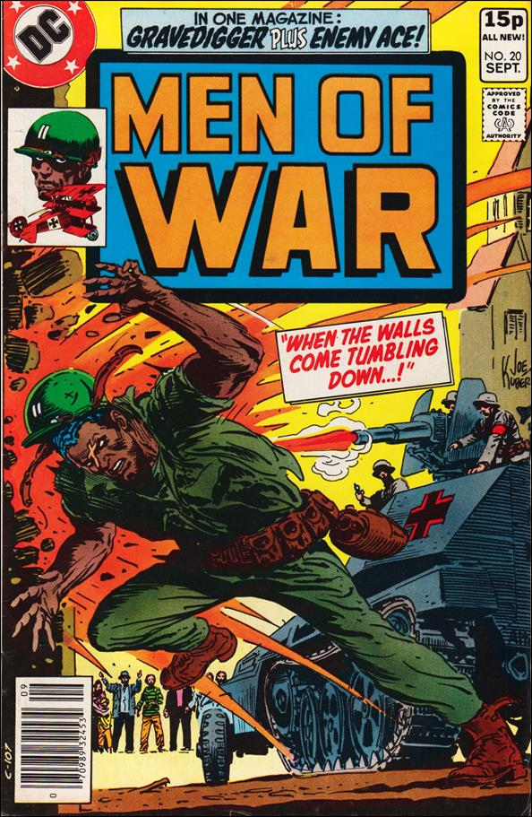 Men of War (1977) 20-B by DC