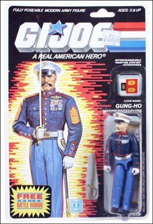 G I Joe A Real American Hero 3 Gung Ho Marine Dress