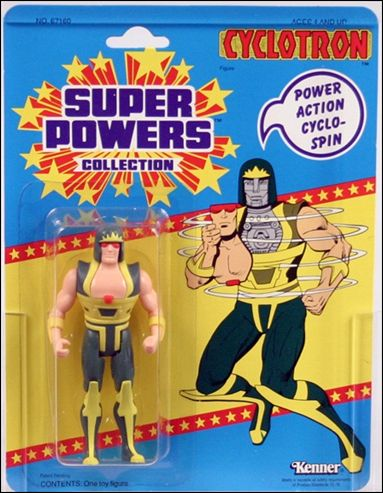 Super Powers Collection Action Figures Cyclotron by Kenner