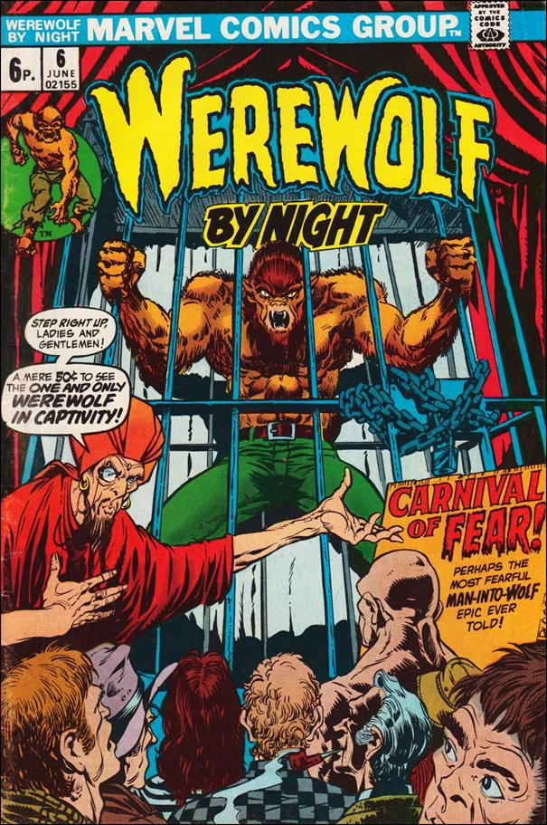 Werewolf by Night (1972) 6-B by Marvel