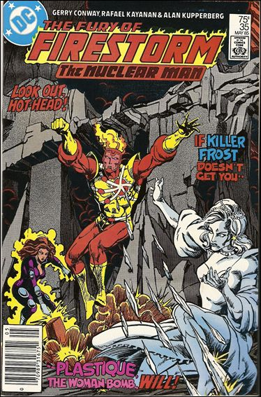 Fury of Firestorm 35-A by DC