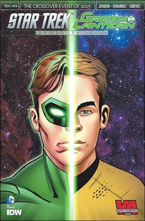 Star Trek / Green Lantern  1-OI