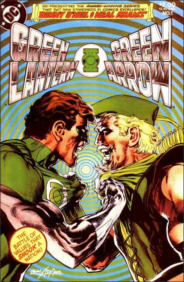 Green Lantern/Green Arrow 1-A by DC