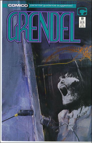 Grendel (1986) 23-A by Comico