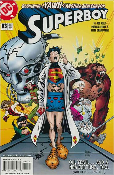 Superboy (1994) 83-A by DC