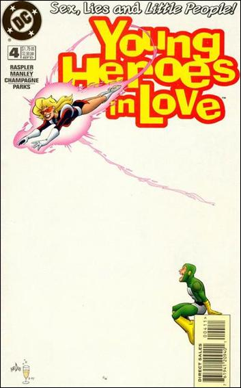 Young Heroes in Love 4-A by DC