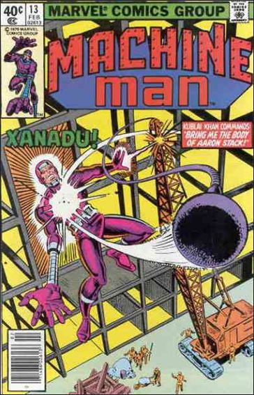 Machine Man (1978) 13-A by Marvel