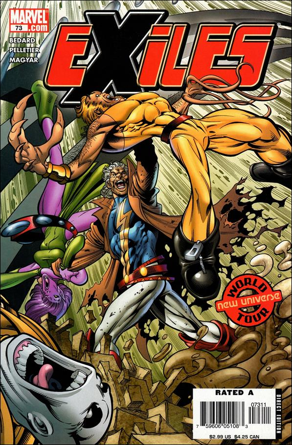 Exiles (2001) 73-A by Marvel