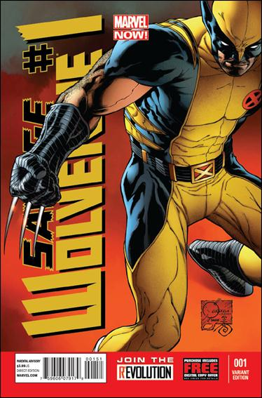 Savage Wolverine 1-C by Marvel