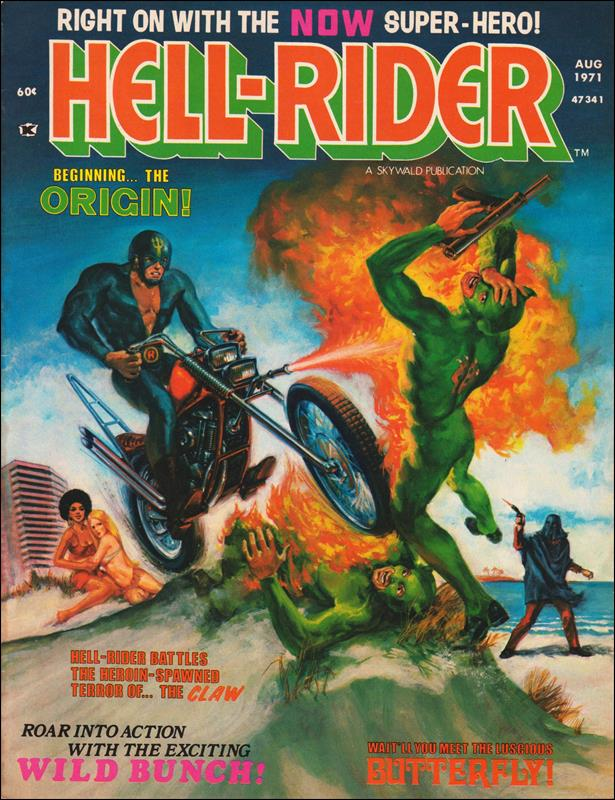 Hell-Rider 1-A by Skywald