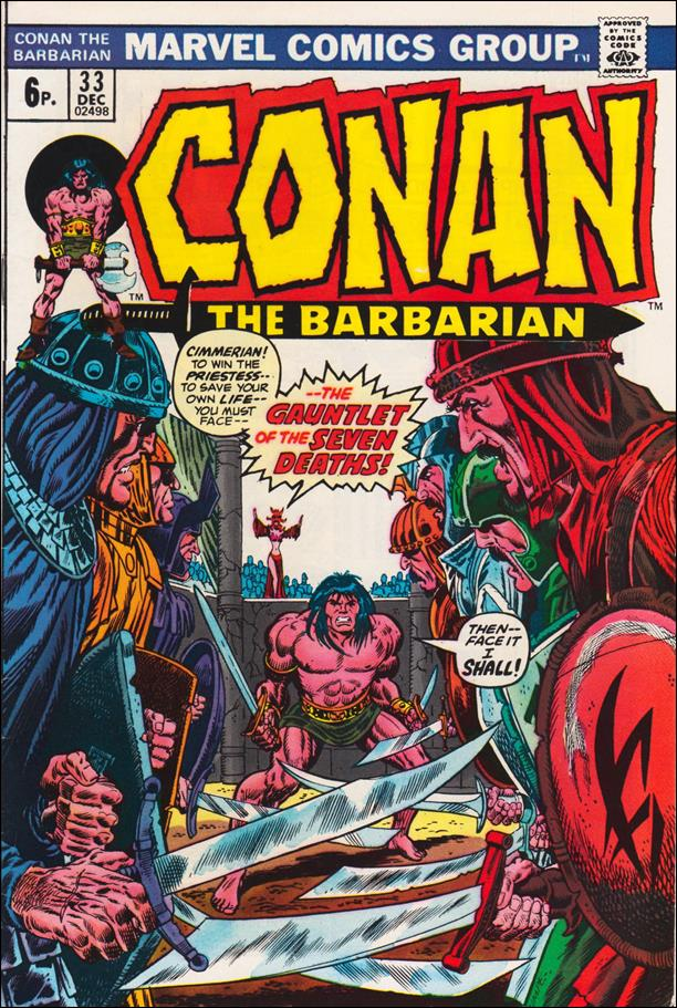 Conan the Barbarian (1970) 33-B by Marvel