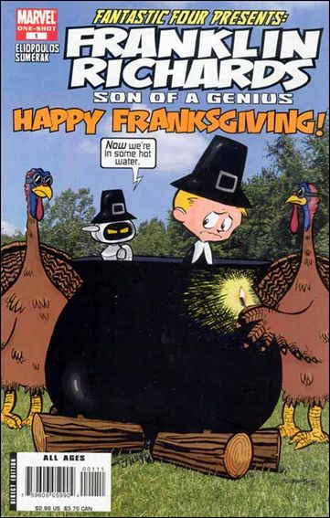 Franklin Richards: Happy Franksgiving! 1-A by Marvel