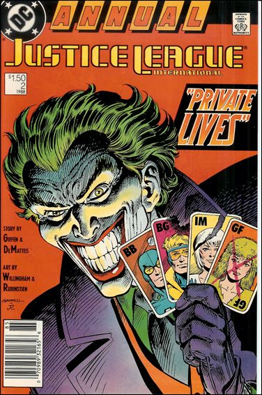 Justice League International Annual (1988) 2-A by DC