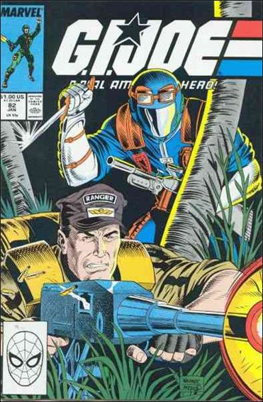 G.I. Joe: A Real American Hero 82-A by IDW