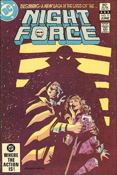 Night Force (1982) 11-A by DC