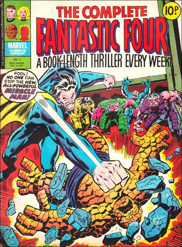 Complete Fantastic Four (UK) 7-A by Marvel UK