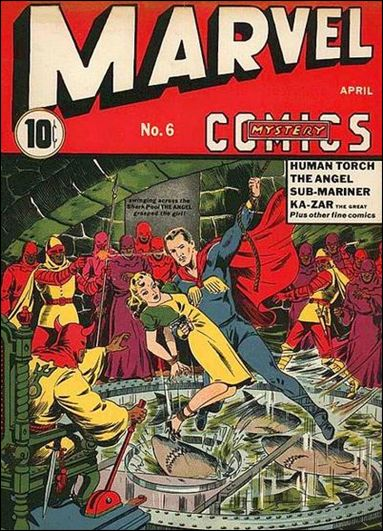 Marvel Mystery Comics (1939) 6-A by Timely